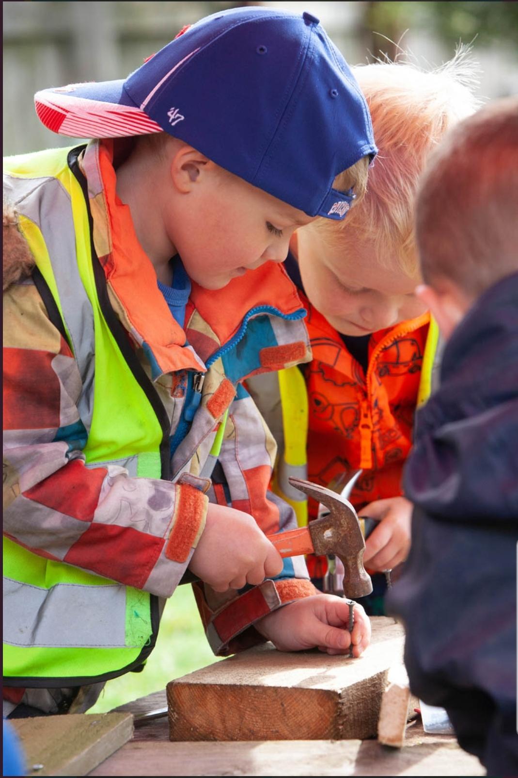 CND - Children with woodwork