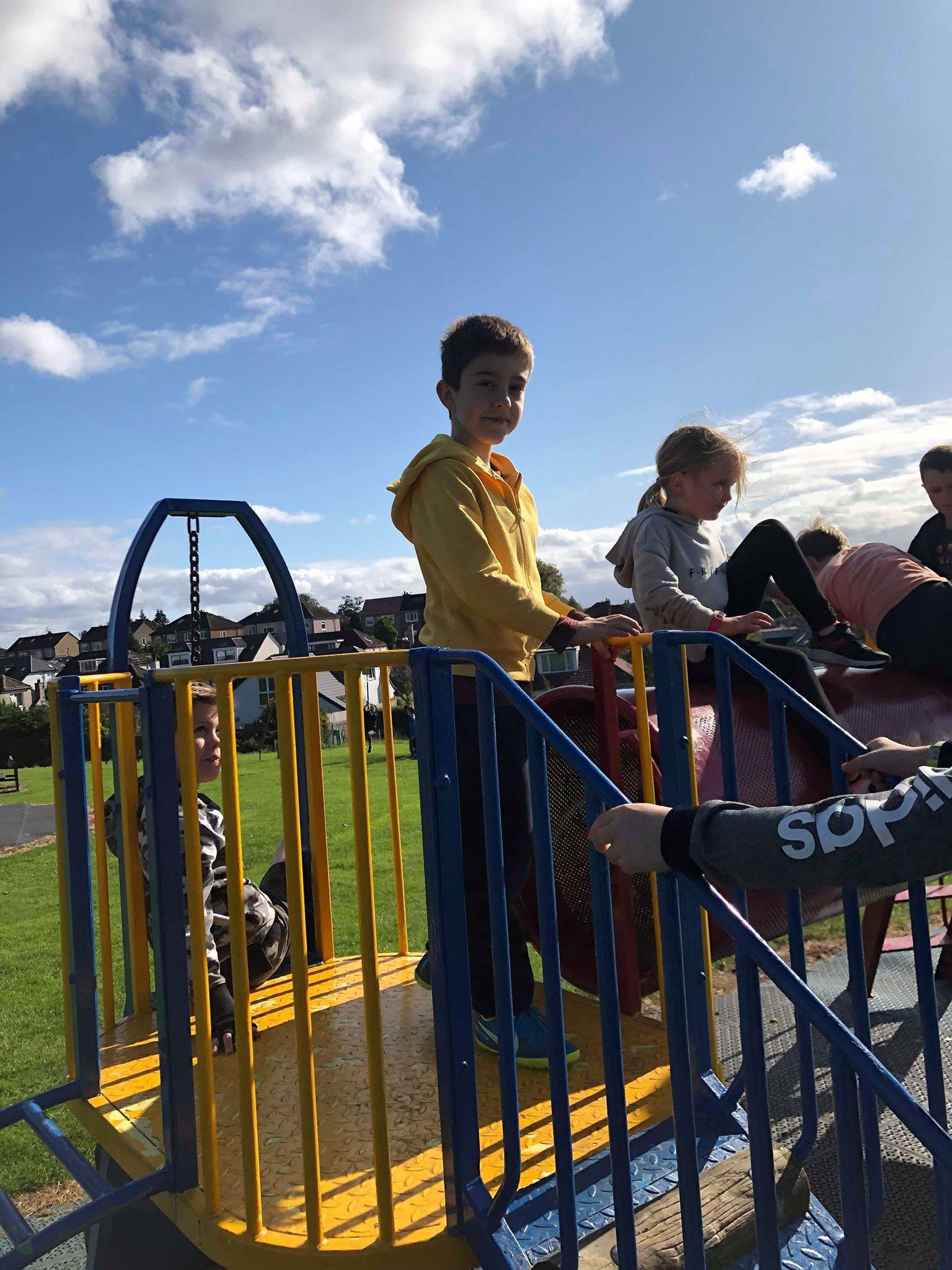 OSC - children in park