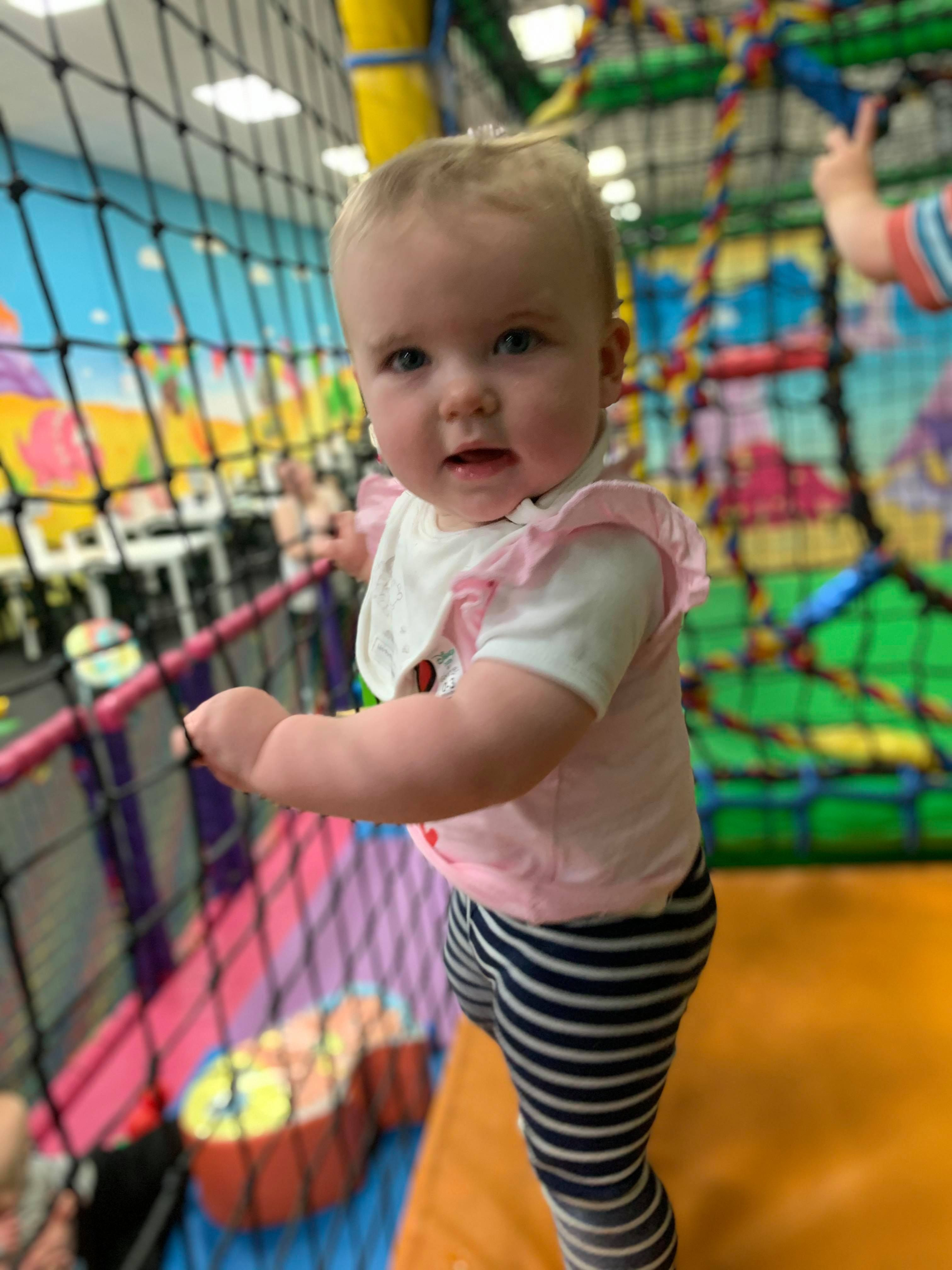 MHL - Child at soft play