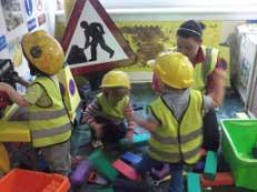 kids playing in Maryhill nursery